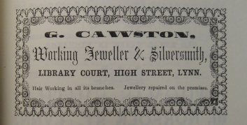 1856 Directory G Cawston Lynn Forums @ 81