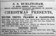 1903 Nov 20th S S Burlingham