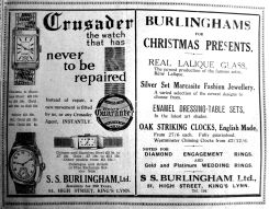1933 Dec 8th SS Burlingham Ltd