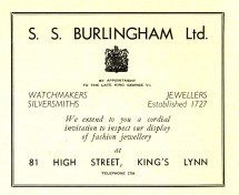 1955 Aug 24to31 Trades Exhib prog Burlingham