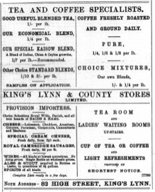 1897 April 2nd KL & County Stores @ No 82