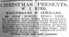 1917 Dec 7th W J King