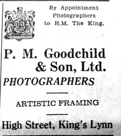 1950 May 26th P M Goodchild