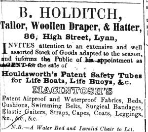 1848 April 29th B Holditch