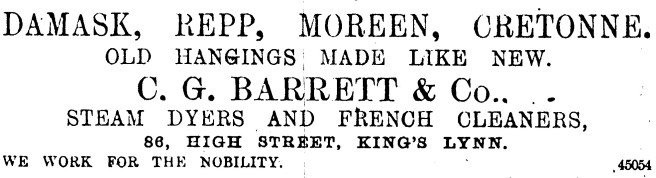 1892 Jan 2nd CG Barrett& Co 86