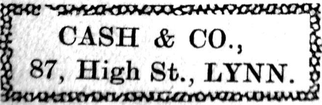 1928 Dec 7th Cash & Co