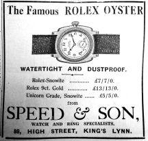1934 June 22nd Speed & Son