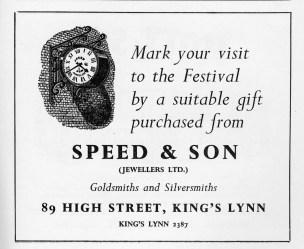 1960 KL Festival Prog