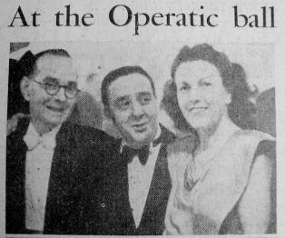 1947 Mar 7th Walter Easter (left)