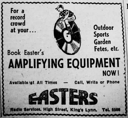 1952 June 27th Easters ouside pa systems