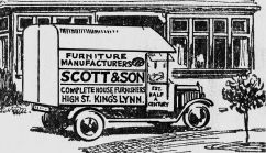 1920s van sketch