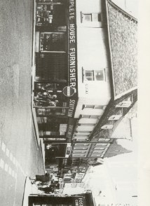 1960s Scotts corner 91 - 97 High Street (James Tuck Lets Look at Lynn 1988)