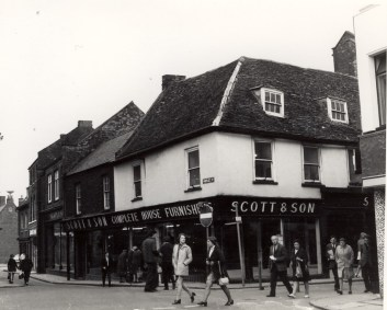 1970 Scott & Son. No 97 on corner