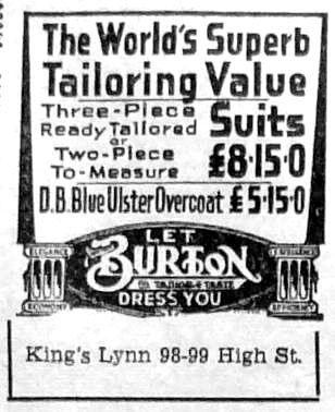 1951 Nov 23rd Burtons