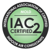 International Association of Certified Indoor Air Consultants IAC2 logo for use by home inspectors