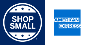 American Express Shop Small Business Logo for online business