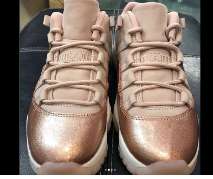 reputable site 92faa ecf2d ... coupon code for the air jordan 11 low rose gold is set to make its debut