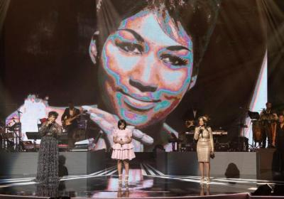 Aretha Franklin Celebrated at the 3rd Annual Black Music Honors