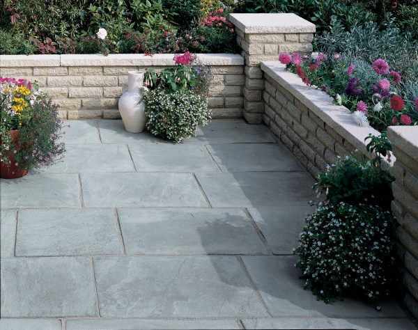 Cambridge Natural Stone Patio - Year of Clean Water