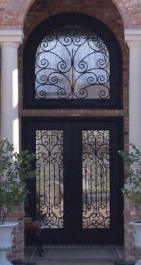 Wrought Iron Doors | Kings Building Material