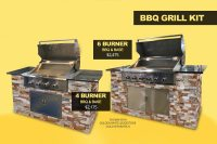 BBQ Grill Kit | Kings Building Material