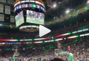 Numerous Patriots Players Were Present As The Boston Celtics Whipped The Crowd Into A Frenzy With A Superbowl Sendoff Video