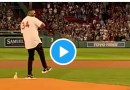 Video: David Ortiz Returns to Fenway Park for First Pitch