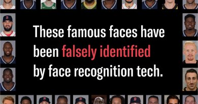 Numerous Patriots, Celtics, Red Sox And Bruins Players Falsely Identified As Criminals From Amazon's Facial Recognition Technology