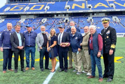Bill Belichick Received The Keys To His Hometown Of Annapolis Prior To The Army/Navy Lacrosse Game