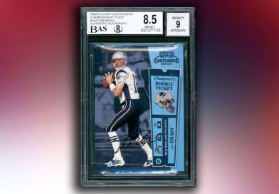 Tom Brady Rookie Card Set A New World Record After It Was Sold For Over $2 Million In An Auction
