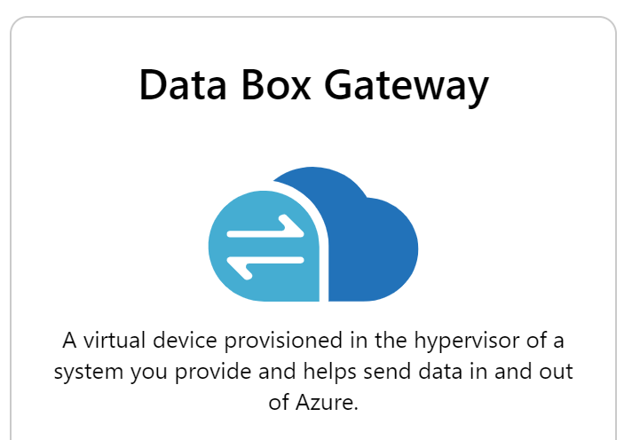 Azure Data Box Gateway