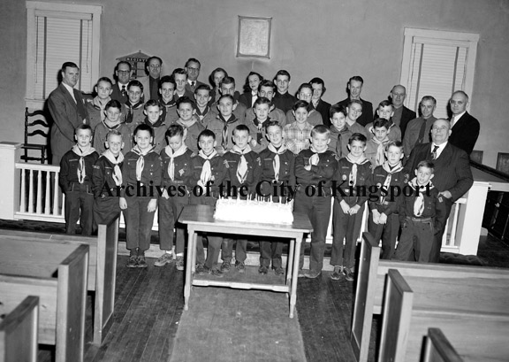 Boy Scouts Of America Archives Of The City Of Kingsport