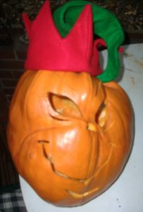 Grinch Pumpkin