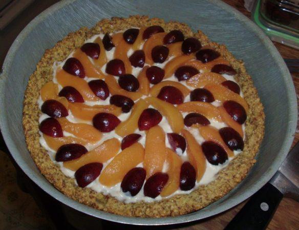 "Apricot Amaretto Tart for ""Easy Gluten-Free Entertaining"""