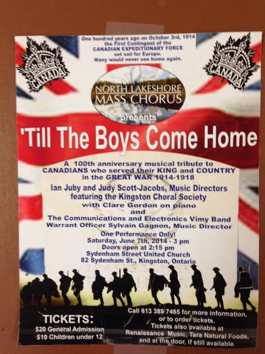 Till The Boys Come Home poster