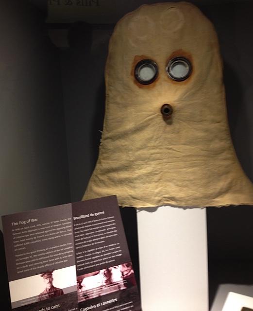 WW1 era gas mask