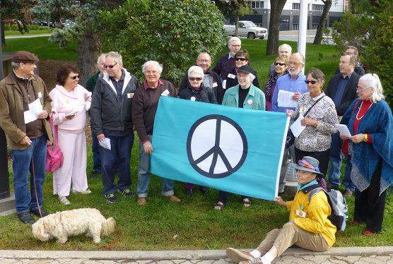 Peace Flag Raising 02