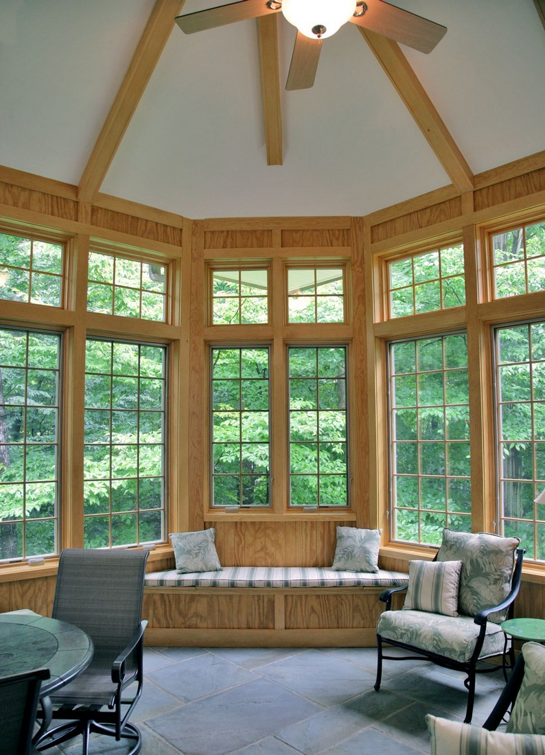Potomac Maryland Exterior Sunroom