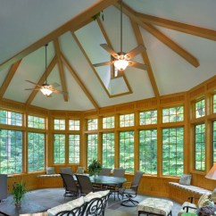 Kitchens And Baths Kitchen Reface Depot Potomac Maryland Exterior Sunroom