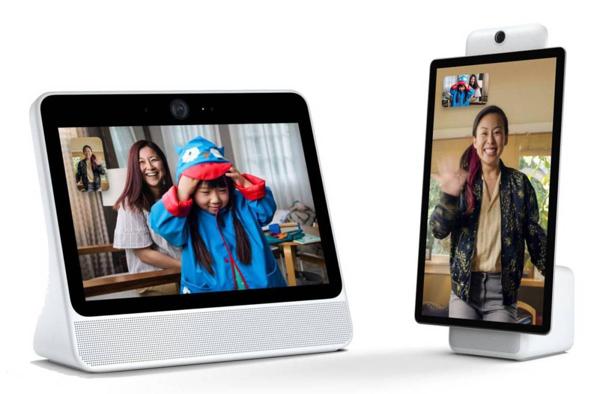 Facebook Portal: video calling with a camera that can track you