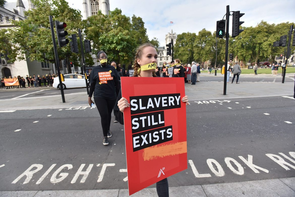 Modern slavery was hidden in plain sight before Covid-19. Now, it's more invisible than ever