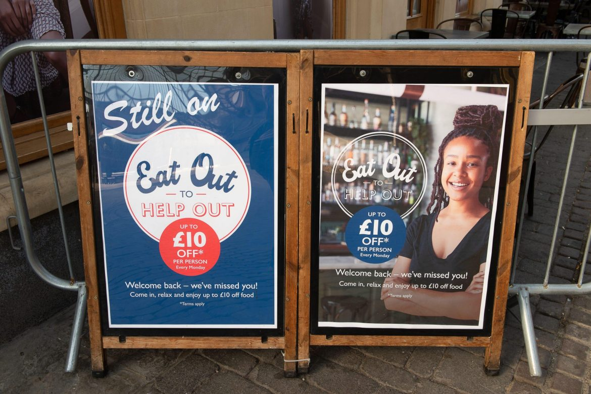 Eat Out to Help Out may have caused second wave of Covid-19