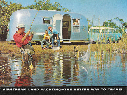 Airstream fishing