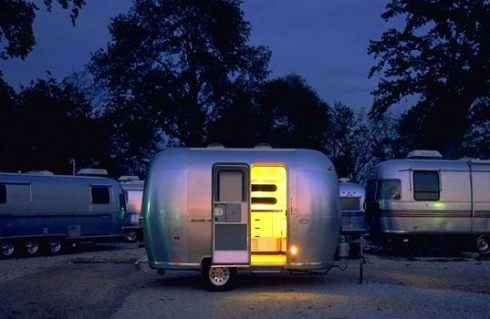 Airstream yellow