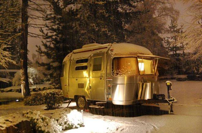 Winter Airstream