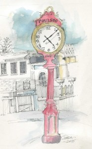 Poulsbo Clock in color