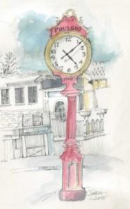 Poulsbo Clock in color