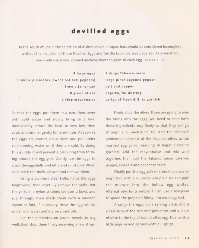 devilled eggs recipe