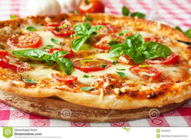 italian-pizza-margherita-fresh-tomatoes-mozzarella-basil-marjoram-43460353
