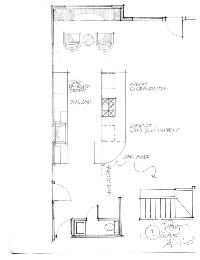 Satre Kitchen Floorplan